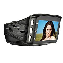 480p 848 x 480 HD 1280 x 720 Full HD 1920 x 1080 車のDVR 2.7 インチ スクリーン ダッシュカム