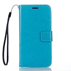 Til Etui Mi Lommebok Kortholder med stativ Etui Heldekkende Etui Ensfarget Hard PU-lær til Xiaomi Xiaomi Redmi Note 3