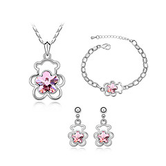 Thousands of colors  Jewelry Necklaces / Earrings / Bracelets & Bangles Jewelry  1set Women -9-1-1-288-3-001-2-085