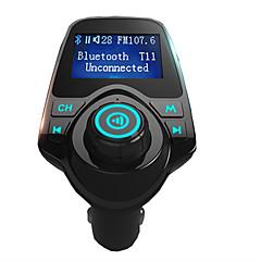 agetunr t11 super chaud ensemble kit voiture vente kit mains libres bluetooth lecteur mp3 fm support de l'émetteur de carte micro