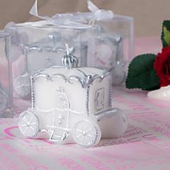 클래식 테마 / 페어리 테일 테마 촛불 부탁-1 Piece 조각 / 세트 캔들 비 개인화 화이트
