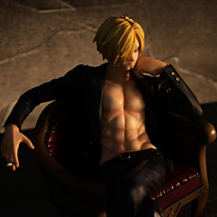 One Piece Sanji PVC 20cm Anime Akcijske figure Model Igračke Doll igračkama