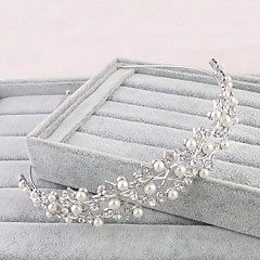 Women's Rhinestone Headpiece-Wedding Special Occasion Office & Career Tiaras 1 Piece