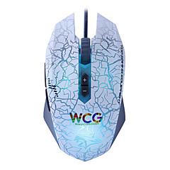 Gaming Mouse 7 botão programável 4000dpi 6 led cores ajust gratuita - atualização wrangler atreve-u