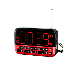 Multifunctional Portable LED Clock Radio
