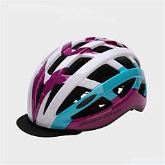Hora / Sporty-Unisex-Cyklistika / Horská cyklistika / Silniční cyklistika / Rekreační cyklistika-Helma(Červená / Modrá / Fialová,PC / EPS)