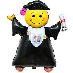 風船 趣味&レジャーグッズ 円筒形 アルミニウム 黒フェード 男の子向け / 女の子向け 5~7歳 / 8~13歳