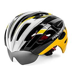 Capacete(Branco / Verde / Cinzento / Preto,PC / EPS) -Montanha / Estrada-Mulheres / Homens / Unisexo 27 AberturasCiclismo / Ciclismo de