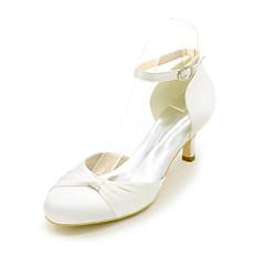 D'Orsay és kétrészes-Stiletto-Női cipő-Magassarkúak-Esküvői / Party és Estélyi-Selyem-Fekete / Kék / Rózsaszín / Lila / Piros /