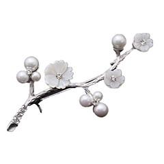 여성 브로치 고급 보석 모조 다이아몬드 보석류 제품 일상