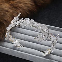 Femme Alliage Imitation de perle Casque-Mariage Occasion spéciale Décontracté Tiare Serre-tête 1 Pièce