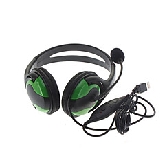 Wired Large Black Headphones for PS3