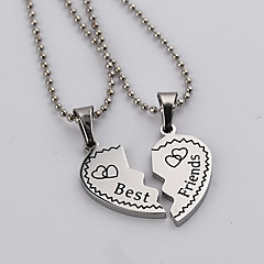 Men's Women's Couple's Pendant Necklaces Pendants Necklace Jewelry AlloyDouble-layer Adorable Inspirational Personalized Magnetic Therapy