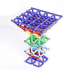 Magnetiske leker 60 Deler MM Magnetiske leker Originale Administrative Leker Kubisk Puslespill som Gave