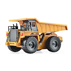 Náklaďák 1:12 RC auta 2.4G Žlutá Hotový model