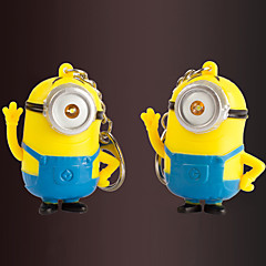 Stainless Steel Keychain Favors-2 Piece/Set Couples Keychains Beach Theme Non-personalised Despicable Me Design Valentine's Day