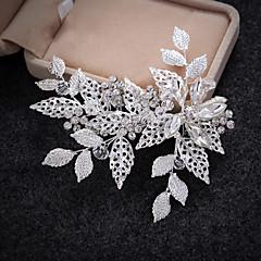 נשים סגסוגת דמוי פנינה כיסוי ראש-חתונה אירוע מיוחד קז'ואל קליפס לשיער תפסים לשיער חלק 1