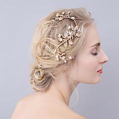 Women's Rhinestone Alloy Headpiece-Wedding Special Occasion Barrette Hair Clip 1 Piece