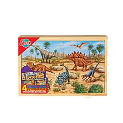 jigsaw zagonetke Poučna igračka / Puzzle Građevni blokovi DIY igračke Kvadrat 1 Drvo Duga Hobiji i Slobodno vrijeme