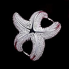 Dame Statement-ringe kostume smykker Sølv Smykker Til Bryllup Fest Daglig Afslappet