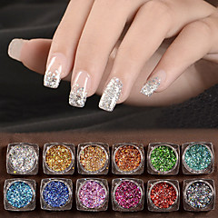 12 Nail Art Decoration Rhinestone Perler Makeup Cosmetic Nail Art Design