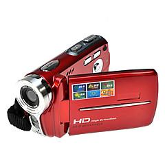 HD 720p Rich® 5MP 16x zoom de la cámara de vídeo digital cámara de vídeo digital roja