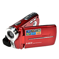rich®의 HD 720p의 5MP 16 배 줌 디지털 비디오 카메라 캠코더 DV 레드