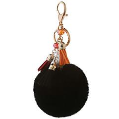 Key Chain 球体 Key Chain 虹色 黒フェード メタル プラッシュ