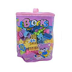조립식 블럭 교육용 장난감 선물 조립식 블럭 레져 취미용품 사각형 플라스틱 2 - 4 세 무지개 장난감