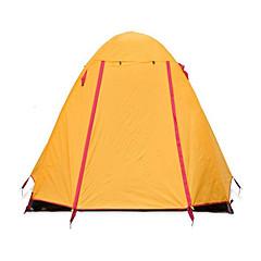 NatureHike® 2 Pessoas Tenda Abrigo e Lona Encerada Duplo Tenda Automática Um Quarto Barraca de acampamento Fibra de VidroProva de Água