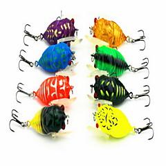 """1 יח ' פיתיון מתכת פתיונות דיג פיתיון קשיח מבחר צבעים g/אונקיה mm/1-5/8"""" אינץ ',מתכת הטלת פיתיון דיג כללי"""