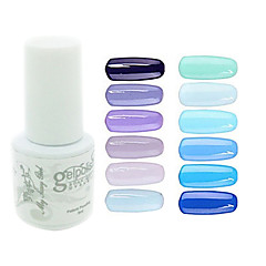 yemannvyou®sequins de color de uñas de gel UV no.61-72 polaco (5 ml, colores surtidos)