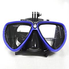Búvárkodás Maszkok Úszás Goggles Búvármaszk Vízálló Számítógép Búvárkodás és felszíni búvárkodás Úszás Műanyag Gumi