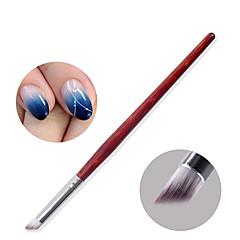 1ks fototerapie nehtů gel spád yunran sklon kartáč pero