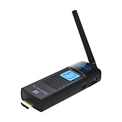 インテル原子X5-z8300ミニPCのクワッドコアCPUまたは4g64g USB3.0とmeasyのt8c窓10 KODIインテルテレビスティックコンピュータスティック