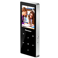 Newsmy MP3/MP4 MP3 / WMA / WAV / FLAC / APE / AAC Rechargeable Li-ion Battery