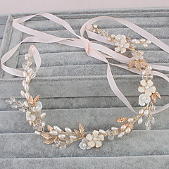 Women's Pearl Headpiece-Wedding Special Occasion Casual Office & Career Outdoor Headbands 1 Piece