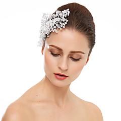 Ženy imitace drahokamu Křišťál Přílba-Svatba Zvláštní příležitost Hřebeny na vlasy Jeden díl