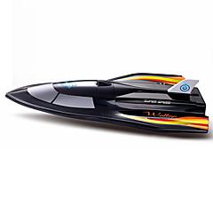 Speedboat Chuangxin Speedboat RC boot Borstelloos Elektrisch 2.4G 50 ABS Zwart