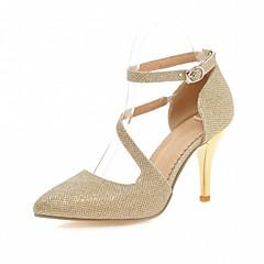 Γυναικεία παπούτσια-Τακούνια-Γάμος Γραφείο & Δουλειά Φόρεμα Καθημερινό Πάρτι & Βραδινή Έξοδος-Τακούνι Στιλέτο-Ανατομικό Πρωτότυπο-