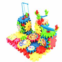 Leketøy til Gutter Oppdagelsesleker Byggeklosser Pedagogisk leke Puslespill Plast