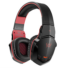 B3505 Bluetooth Sport Headset Wireless gaming headphone with Microphone for iPhone Mac Smartphones PC Computers Laptops(Red)