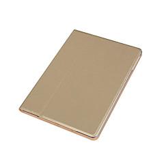 ל עם מעמד מגן גוף מלא מגן צבע אחיד קשיח דמוי עור ל Apple iPad Air 2 iPad Air
