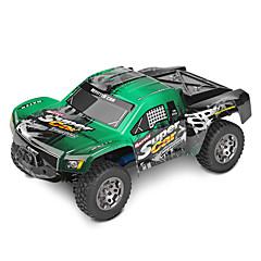 Auto Passeggino WLToys 1:12 Elettrico con spazzola Auto RC 45 2.4G Verde Pronto all'usoAuto di controllo remoto Telecomando a