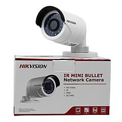 hikvision® 4.0 mp Kugel im Freien 30m ir (wasserdicht Tag Nachtbewegungserkennung Dual-Stream) dc12v & poe