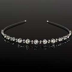 Rhinestone Headpiece-Wedding Special Occasion Casual Tiaras Headbands 1 Piece