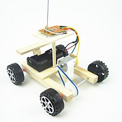 צעצועים לבנים צעצועי דיסקברי צעצועי מדע וגילויים מכונית עץ מתכת