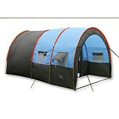 텐트 싱글 가족 캠프 텐트 트리 룸 캠핑 텐트 폴리에스터 방수-하이킹 캠핑 여행 야외