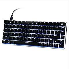 עכבר גיימינג USB מקלדת Gaming מקלדת ארגונומית מקלדת מכאנית USB ציר ירוק תאורה אחורית בצבע רב תאורה אחורית מונוכרומטי OEM במפעל