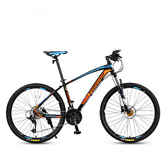 Mountain Bikes Cykling 30 Speed 27,5 Inch Microshift Olieskivebremse Affjedringsgaffel Aluminiumslegeret ramme Normal Anti-glide